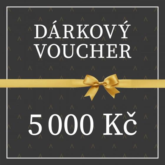 VOUCHER V HODNOTĚ 5.000 Kč
