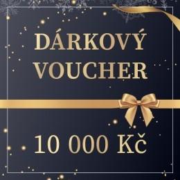 VOUCHER V HODNOTĚ 10.000 Kč